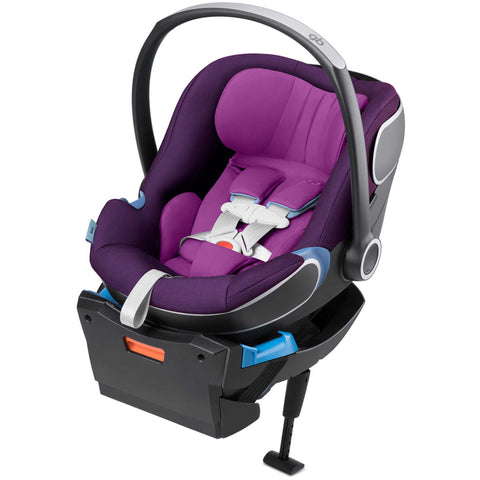 GB Idan Infant Car Seat with Load Leg Base (Posh Pink)-Infant Car Seat-Supreme Stroller
