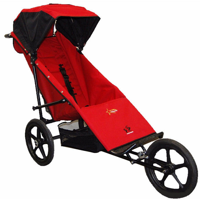 Adaptive Star Axiom Phoenix Push Chair (Red)-Stroller-Supreme Stroller