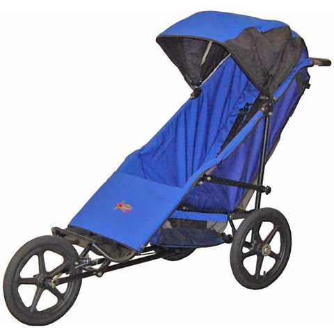 Adaptive Star Axiom Phoenix Push Chair (Royal Blue)-Stroller-Supreme Stroller