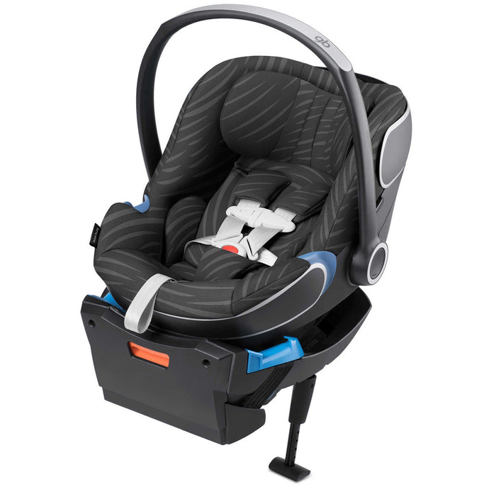 GB Idan Plus Infant Car Seat with Load Leg Base (Lux Black)-Infant Car Seat-Supreme Stroller