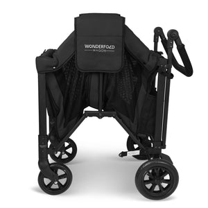 Wonderfold W2 Double Stroller Wagon (Black)