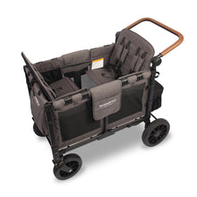 Wonderfold W4S 2.0 Multifunctional Stroller Wagon (4 Seater) (Gray&Black)