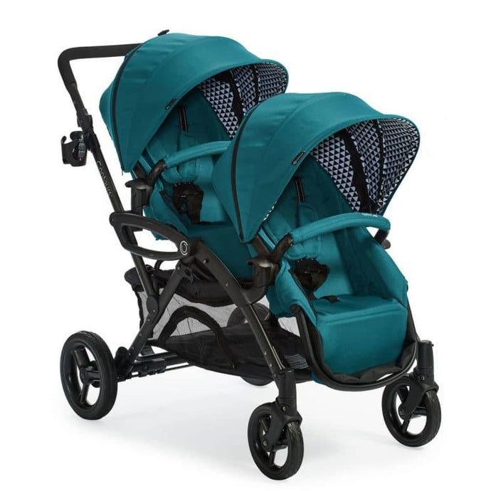 Contours Options Elite Tandem Double Stroller (Aruba Teal)-Stroller-Supreme Stroller