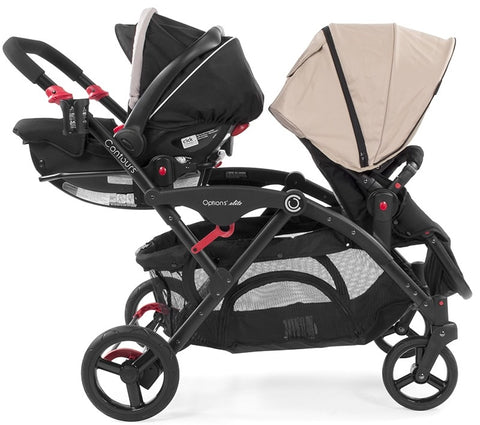 Contours Tandem Graco Click Connect Infant Car Seat Adapter Accessory Supreme Stroller