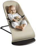 BABYBJÖRN Bouncer Balance Soft (Beige/Gray in Cotton Jersey)-Bouncer-Supreme Stroller