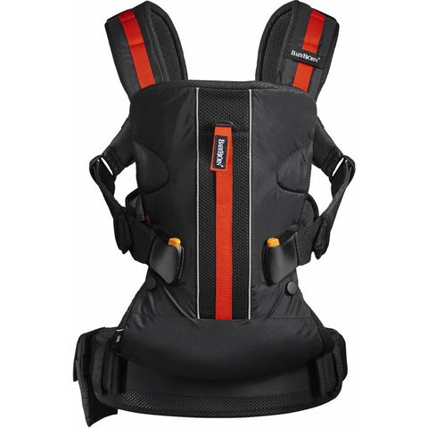 BABYBJÖRN Baby Carrier One Outdoor (Black)-Baby Carrier-Supreme Stroller
