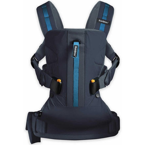 BABYBJÖRN Baby Carrier One Outdoor (Dark Blue)-Baby Carrier-Supreme Stroller