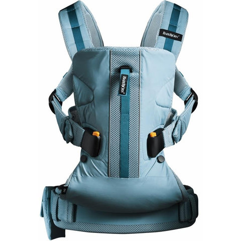 BABYBJÖRN Baby Carrier One Outdoor (Turquoise)-Baby Carrier-Supreme Stroller