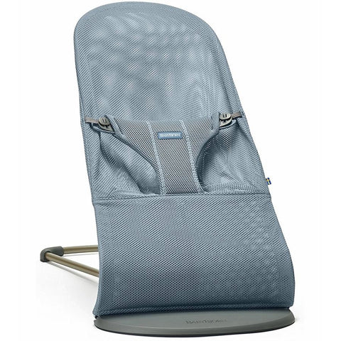 BABYBJÖRN Bouncer Bliss (Dusk Blue in Mesh)-Bouncer-Supreme Stroller