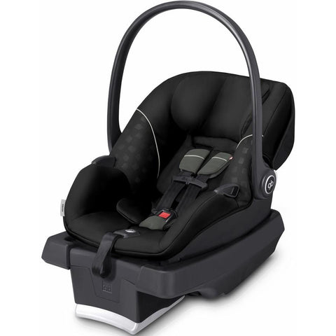 GB Asana Infant Car Seat with Load Leg Base (Monument Black)-Infant Car Seat-Supreme Stroller