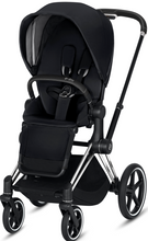 Cybex PRIAM 3-in-1 Travel System w/ Chrome Black Frame (Premium Black)