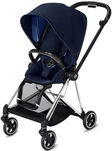Cybex MIOS 3-in-1 Travel System w/ Chrome Black Frame (Indigo Blue)