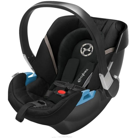 Cybex Aton 2 Infant Car Seat (Black Beauty)-Infant Car Seat-Supreme Stroller