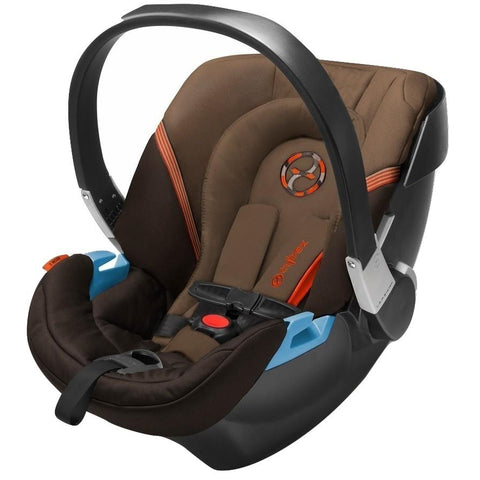 Cybex Aton 2 Infant Car Seat (Coffee Bean)-Infant Car Seat-Supreme Stroller