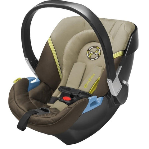 Cybex Aton 2 Infant Car Seat (Limestone)-Infant Car Seat-Supreme Stroller