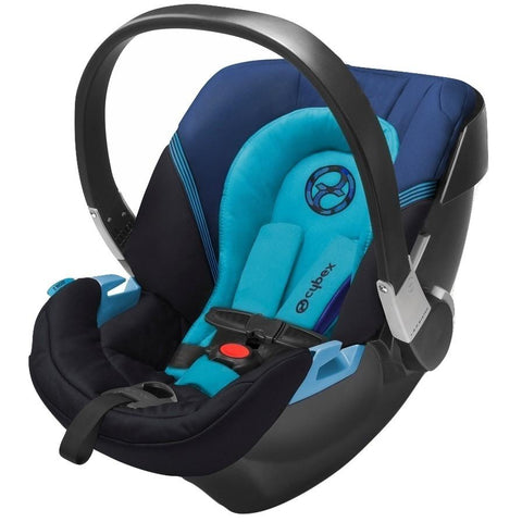 Cybex Aton 2 Infant Car Seat (True Blue)-Infant Car Seat-Supreme Stroller