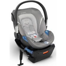 Cybex Aton 2 SensorSafe Infant Car Seat (Manhattan Grey)-Infant Car Seat-Supreme Stroller
