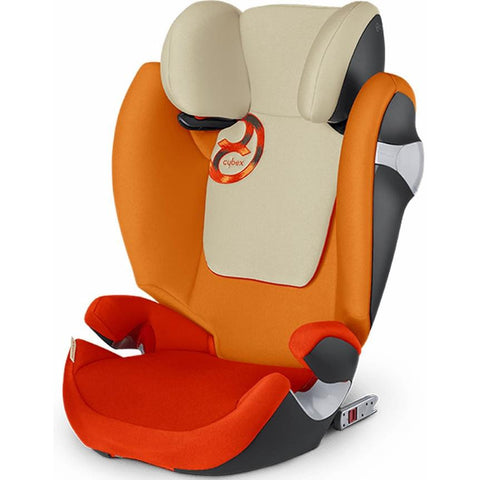 Cybex Solution M Fix Booster Car Seat (Autumn Gold)-Booster Car Seat-Supreme Stroller
