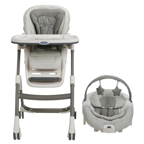 Graco Sous Chef 5-in-1 Highchair (Davis)-High Chairs-Supreme Stroller