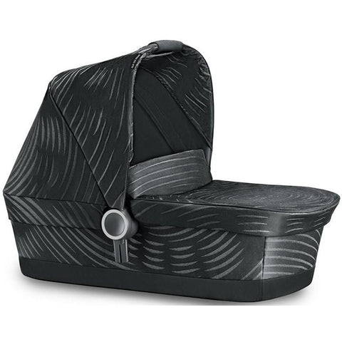 GB Maris Carry Cot Plus (Lux Black)-Carrycot-Supreme Stroller