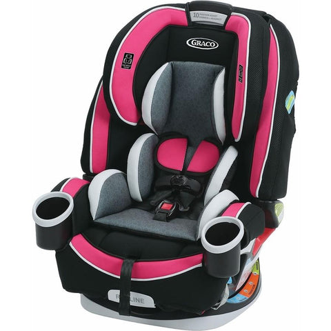 Graco 4ever All-in-One Car Seat (Azalea)-Convertible Car Seat-Supreme Stroller