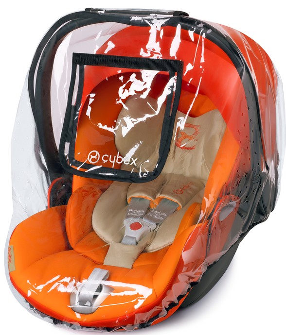 Cybex Aton/Cloud Q Rain Cover (Transparent)