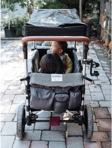 Keenz 7S Stroller Wagon Liner W/ Matching Blanket & Harness Pad Covers (Herringbone)