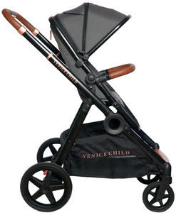 VeniceChild MAVERICK SINGLE to DOUBLE STROLLER (Twilight)