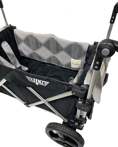 Keenz 7S Stroller Wagon Liner W/ Matching Blanket & Harness Pad Covers (Diamond)