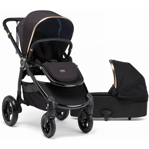 Mamas & Papas Ocarro Stroller and Carrycot Bundle (Black Diamond)-Stroller-Supreme Stroller