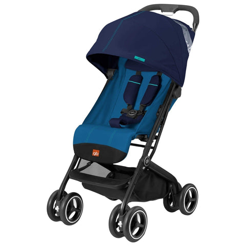 GB QBit Plus (Sea Port Blue)-Stroller-Supreme Stroller