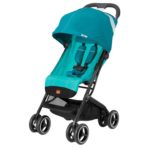 GB QBit Plus (Capri Blue)-GB-Supreme Stroller