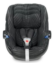 GB Idan Infant Car Seat with Load Leg Base (Monument Black)-Infant Car Seat-Supreme Stroller