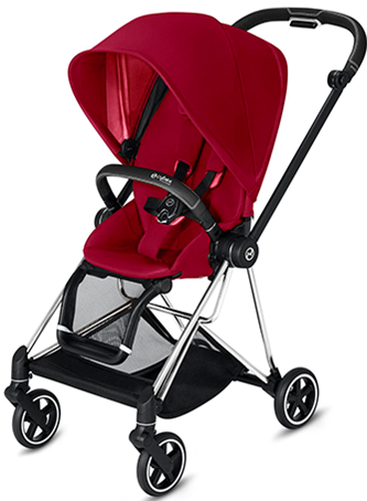 Cybex MIOS 3-in-1 Travel System w/ Chrome Black Frame (True Red)