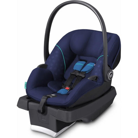GB Asana Infant Car Seat with Load Leg Base (Sea Port Blue)-Infant Car Seat-Supreme Stroller