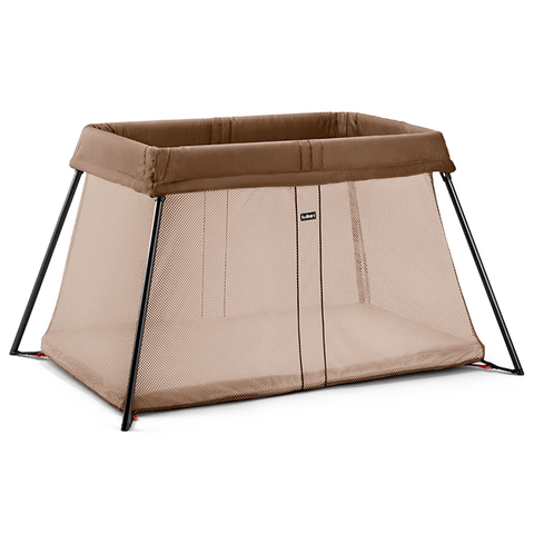 BABYBJÖRN Travel Crib Light (Light Brown)-Babybjörn-Supreme Stroller