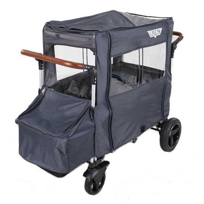 Keenz All-Weather Cover (formerly wind cover) (Grey)-Stroller Accessory-Supreme Stroller