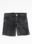 BOYS DENIM SHORTS Black Denim