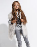 The Stone Faux Fur Vest