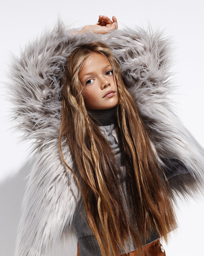 The Mini Moonlight - Faux Fur Jacket
