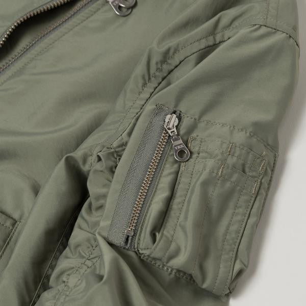 Devin Bomber Jacket -Army Green