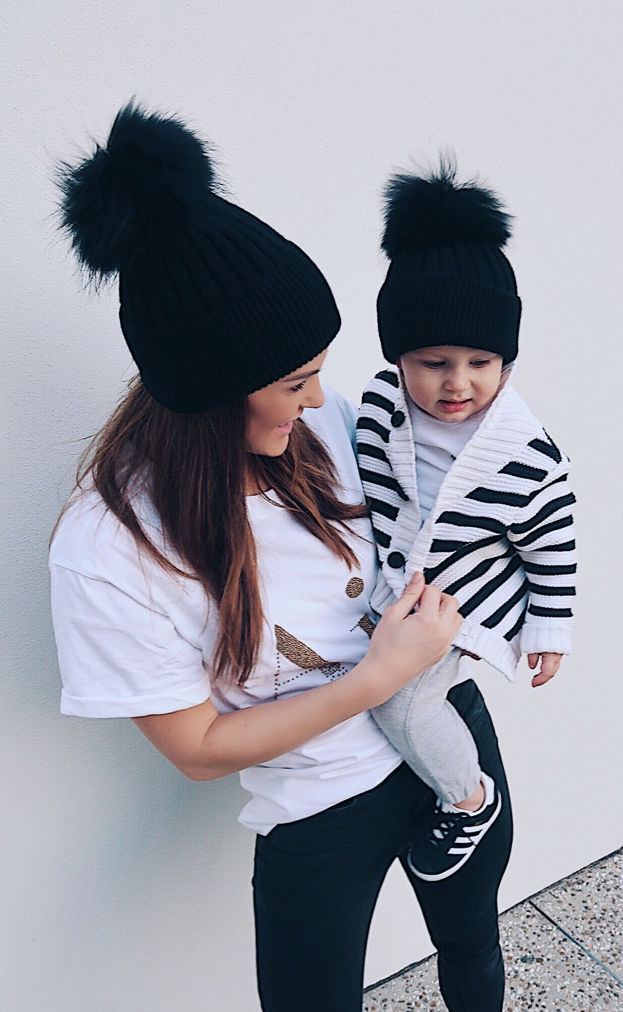 Mama & Mini Beanies- The Cashmere Collection