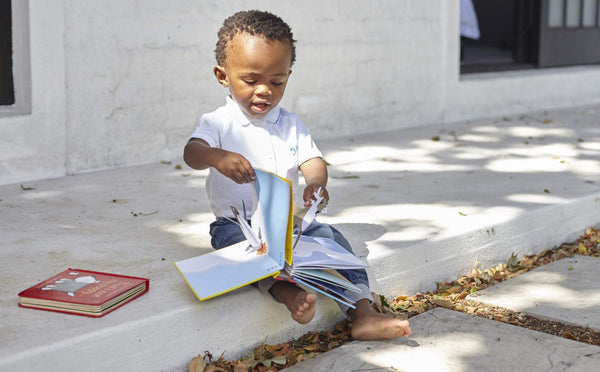 5 ways to inspire a love of books in your  child