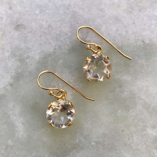 NAJA CRYSTAL GOLDEN EARRING