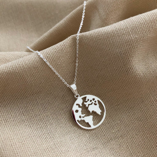 WORLD SILVER NECKLACE