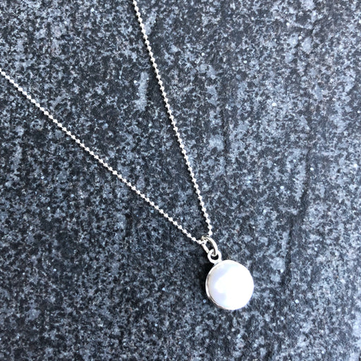 IDA PEARL SILVER NECKLACE