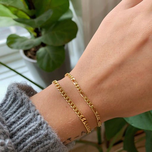 UMA MEDIUM FIGARO GOLDEN BRACELET