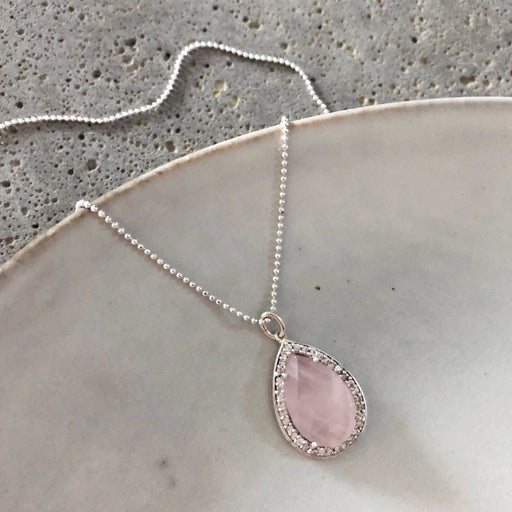 ALEXA ROSE SILVER NECKLACE