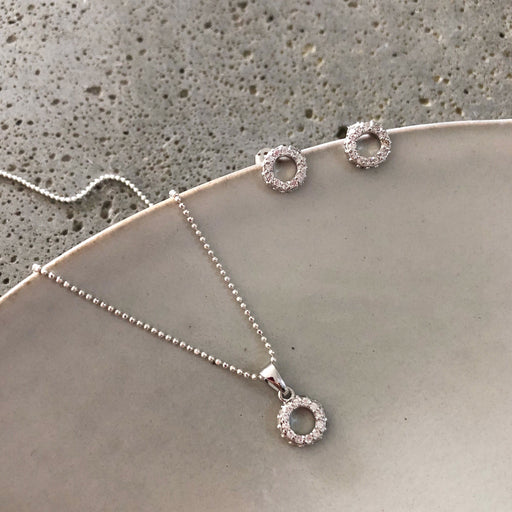 ALBERTE SILVER NECKLACE