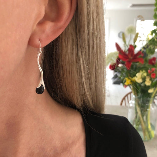 MARY BLACK SILVER EARRING